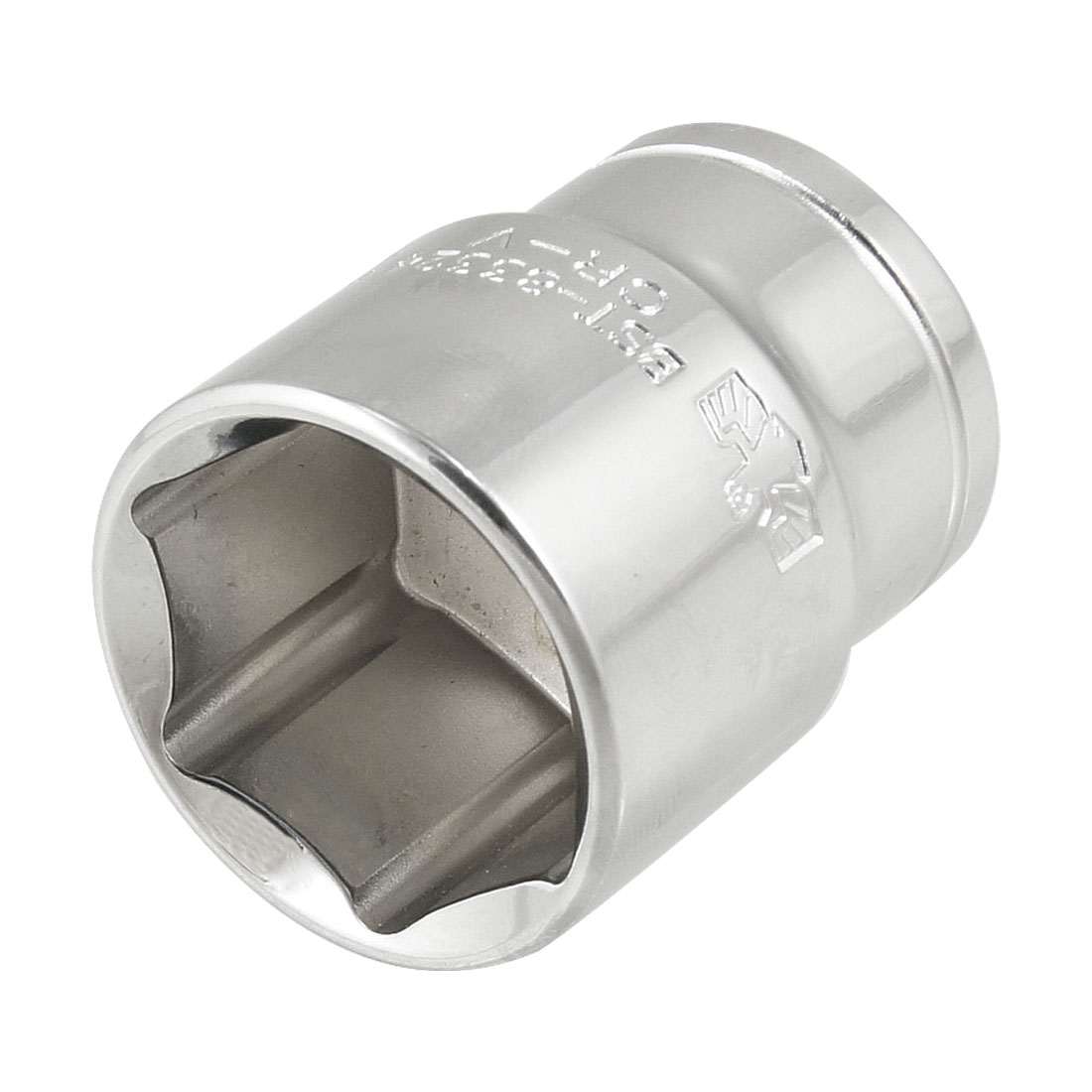 "24mm 6 Point Hex Socket 1/2"" Square Drive Hardware Tool"