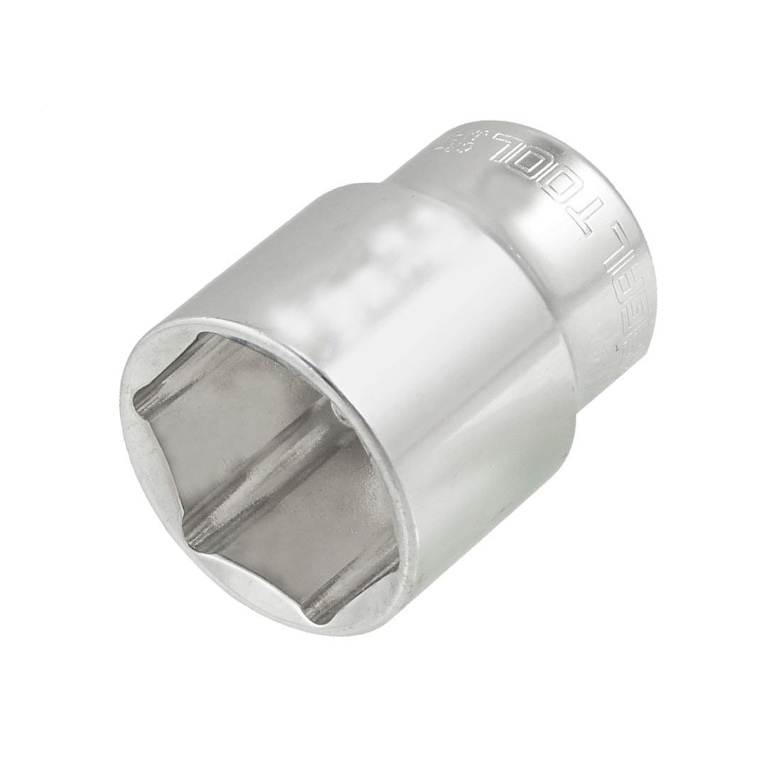 """26mm Hex 1/2"""" Square Drive Chrome Plated Metal 6 Points Socket"""