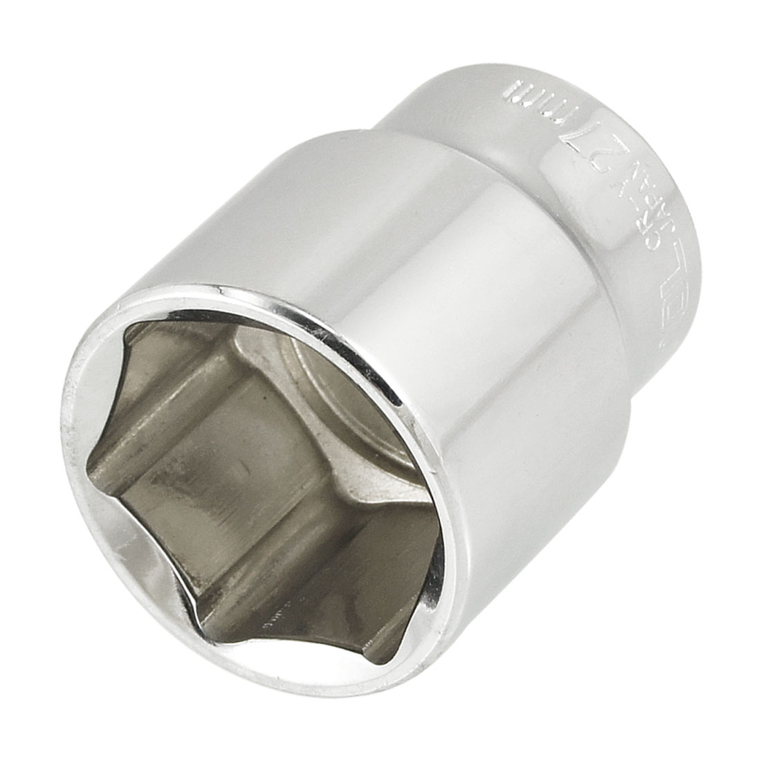 "1/2"" Square Driver 27mm Metric 6 Points Axle Nut Socket"