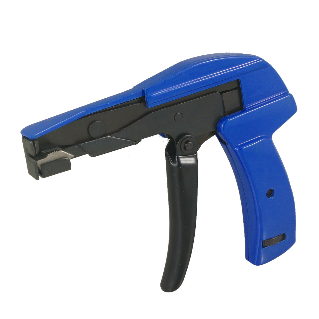 Blue Black Cable Wire Tie Gun Fastening Cutting Tool for Ties