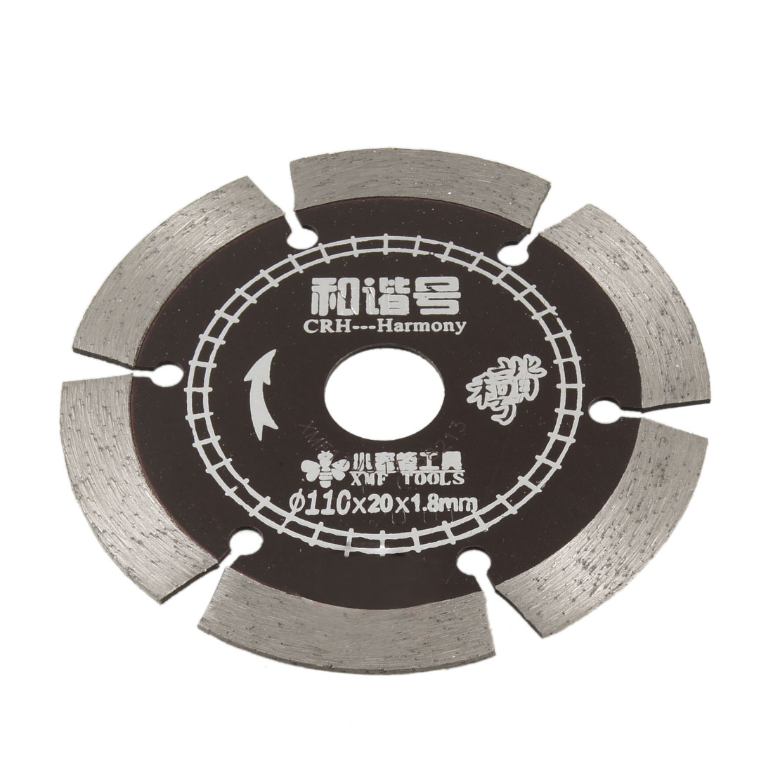 Concrete Tile Cutting Wheel Diamond Coated Saw Cutter 110mm x 20mm x 1.8mm