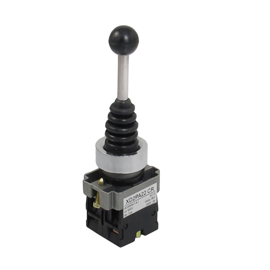 SPST 2 N.O. NO 2 Position Momentary Type Monolever Joystick Switch
