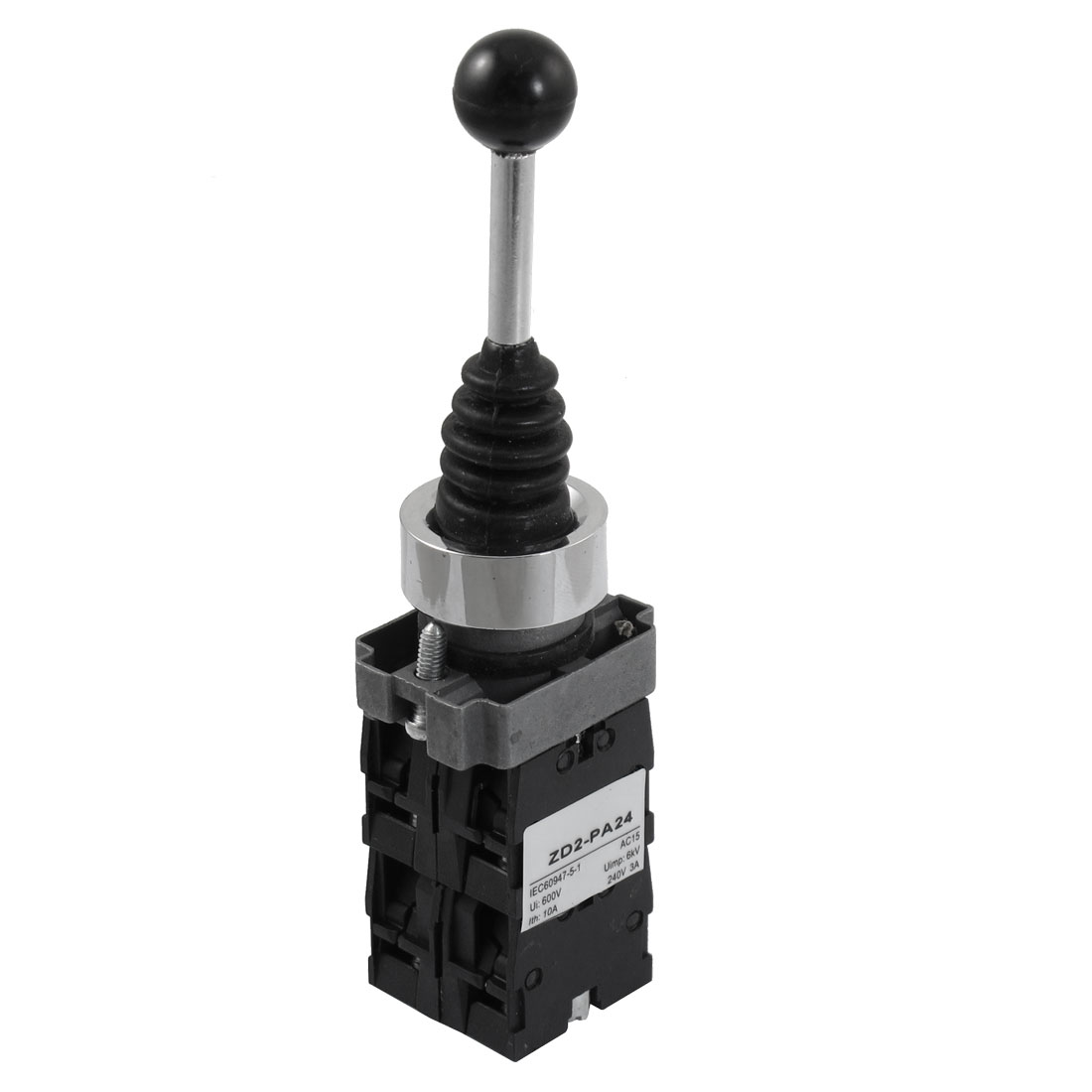 SPST 4 N.O. NO 4 Position Momentary Type Monolever Joystick Switch