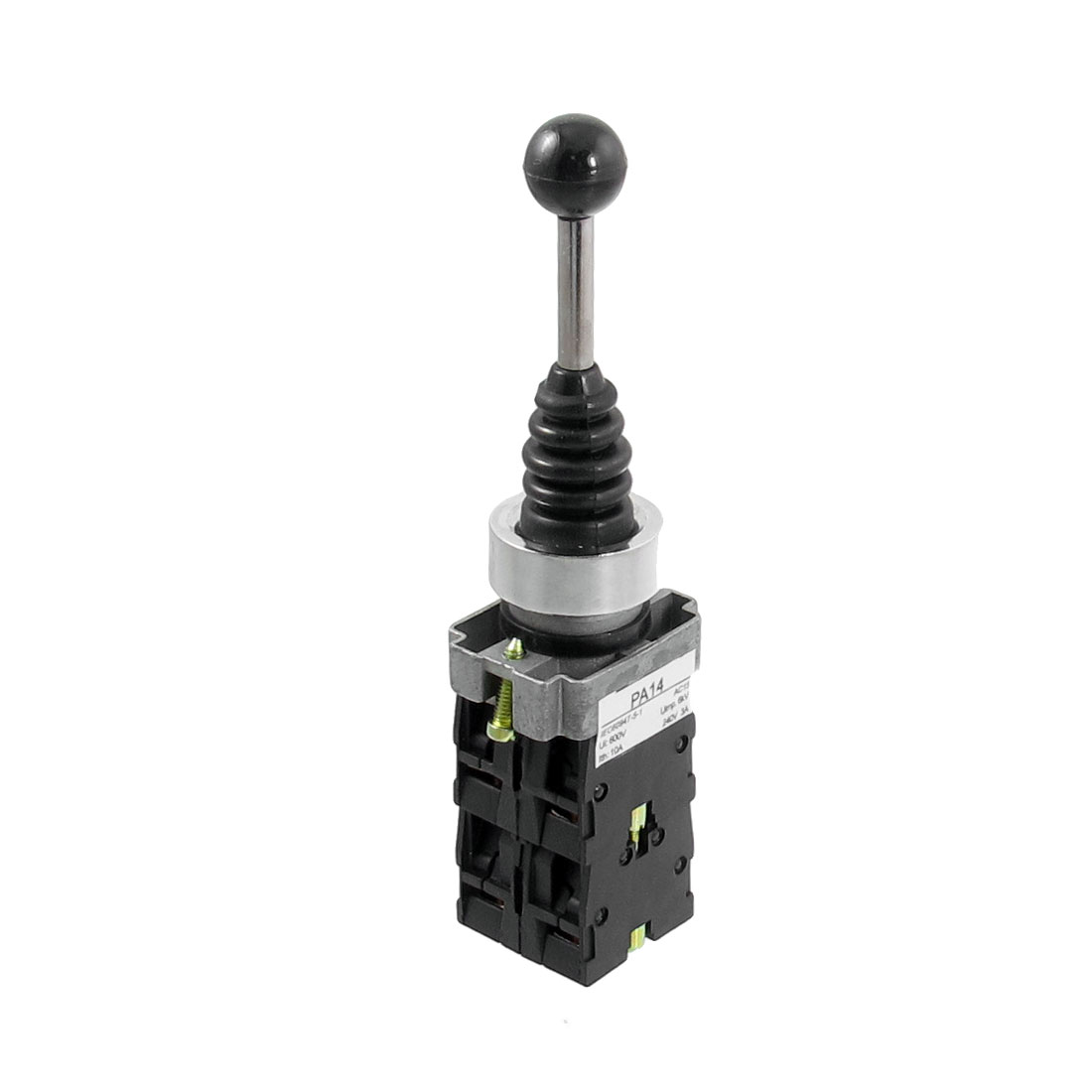 SPST 4 N.O. NO 4 Position Self-locking Type Monolever Joystick Switch