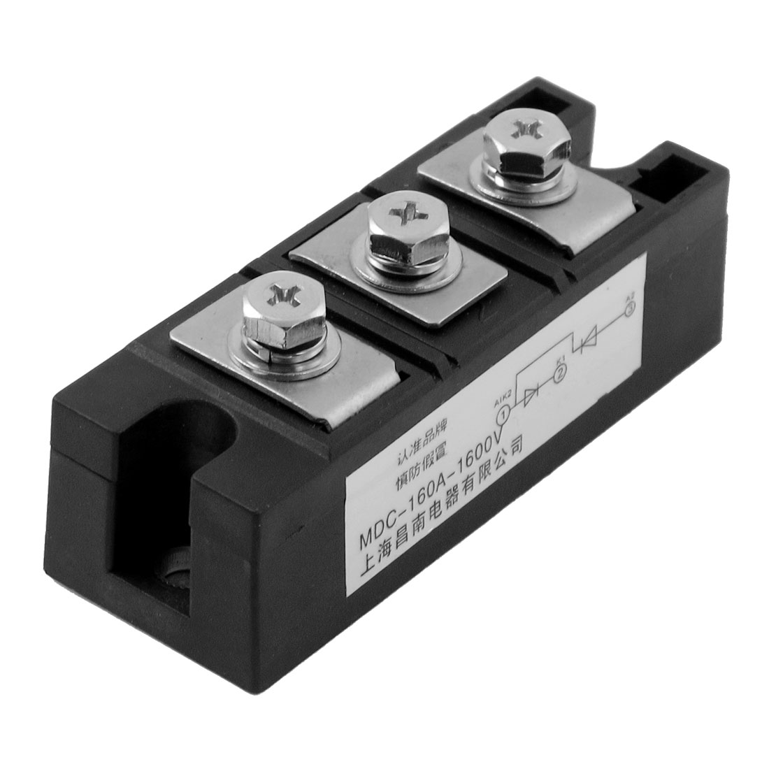 AC 1600V 160A 3 Terminals Rectifier Module Semiconductor MDC Thyristor