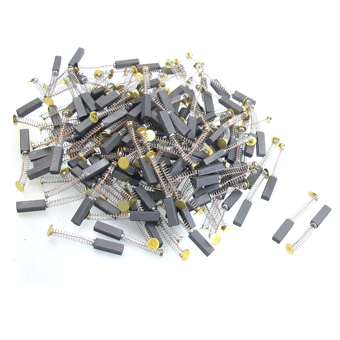 "200 Pcs 15/64"" x 5/16"" x 63/64"" Motor Carbon Brushes for Electric Drill"
