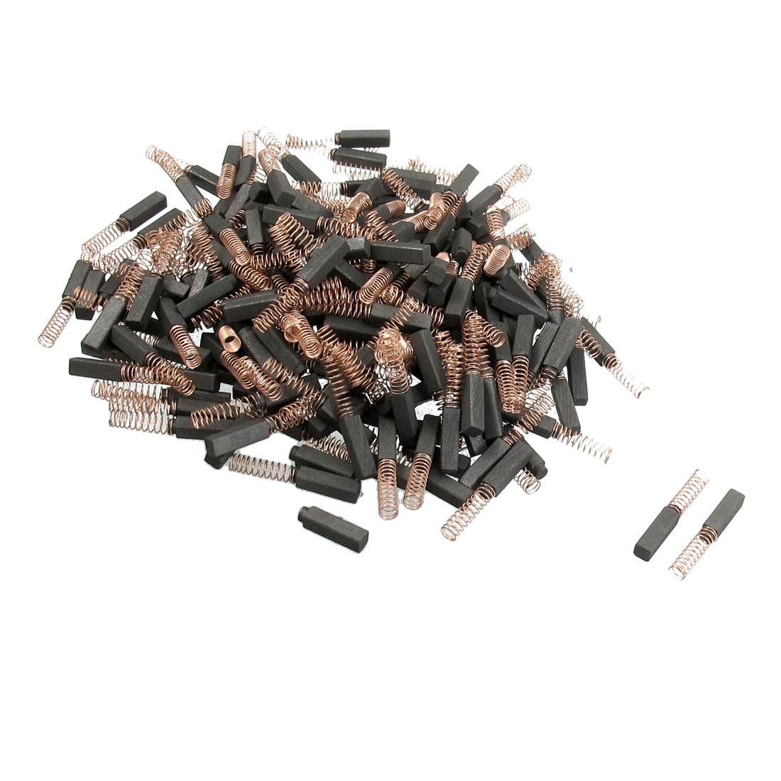"""200 Pcs 5/32"""" x 5/32"""" x 19/32"""" Replacement Electric Motor Carbon Brushes"""