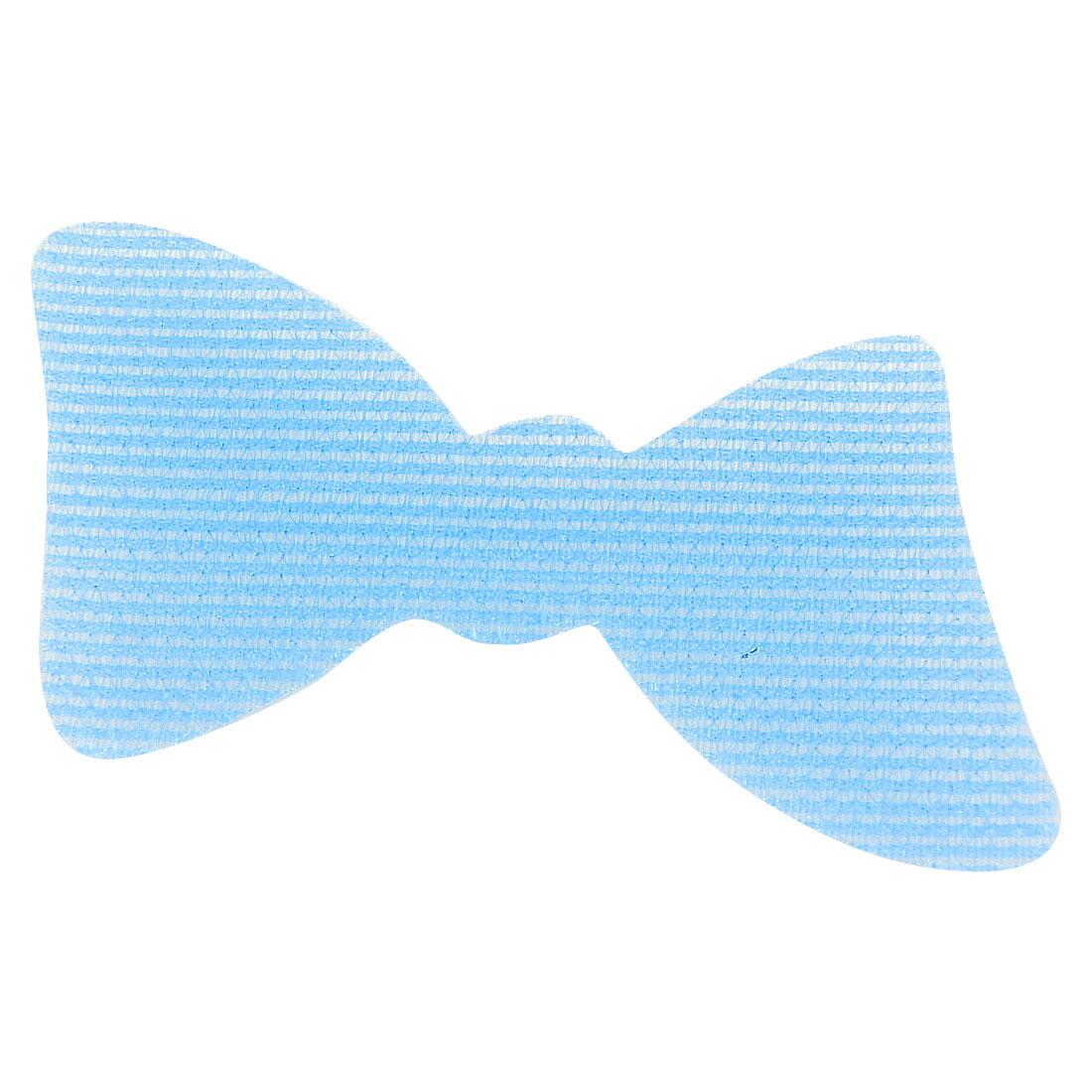 Light Blue Nylon Bowtie Shape Foretop Hair Posted Magic Sheet