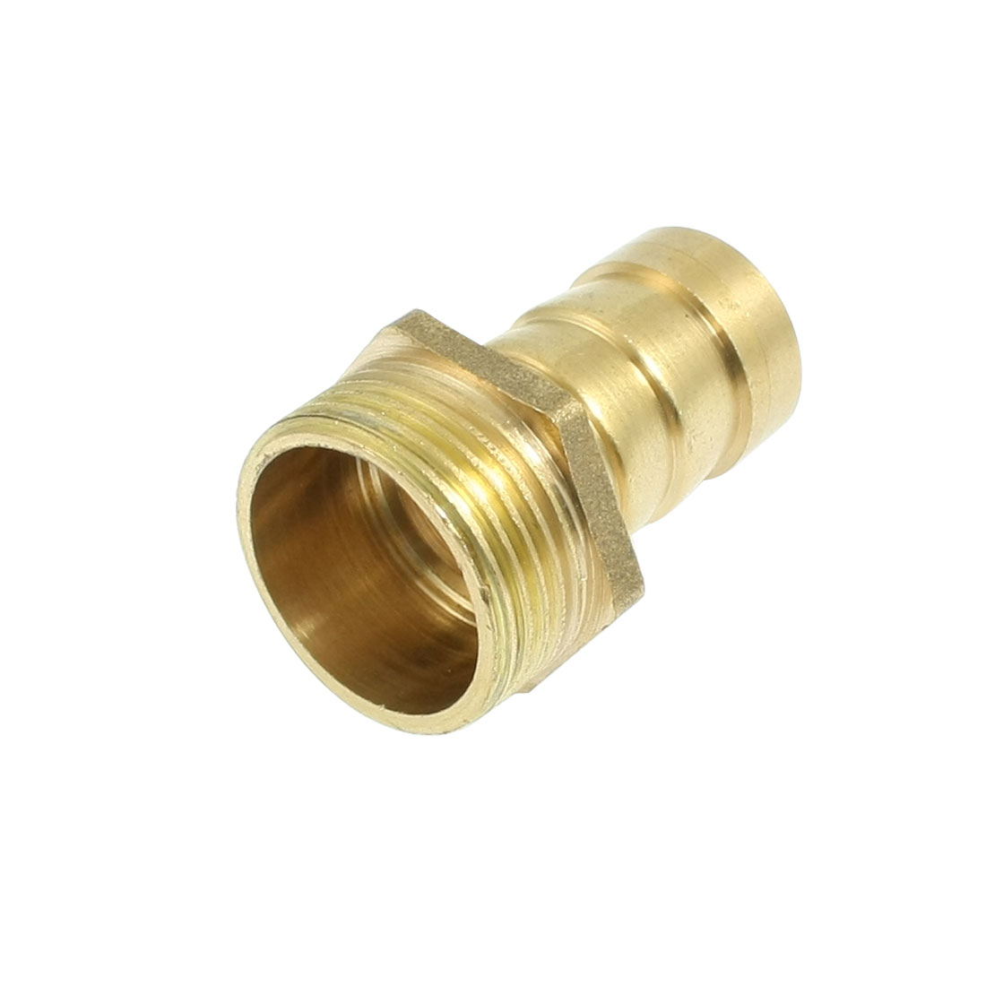 "3/4"" PT Threaded 1/2""PT Pneumatic Air Gas Hose Barbed Fitting Coupling"