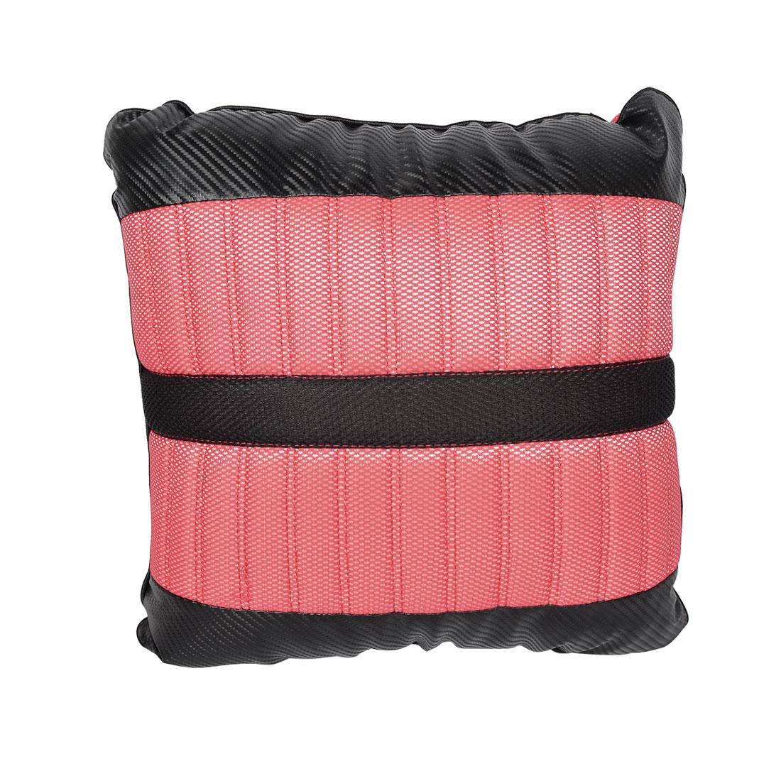 Zip Closure Bone Style Red Black Cars Vehicles Throw Pillow Cushion