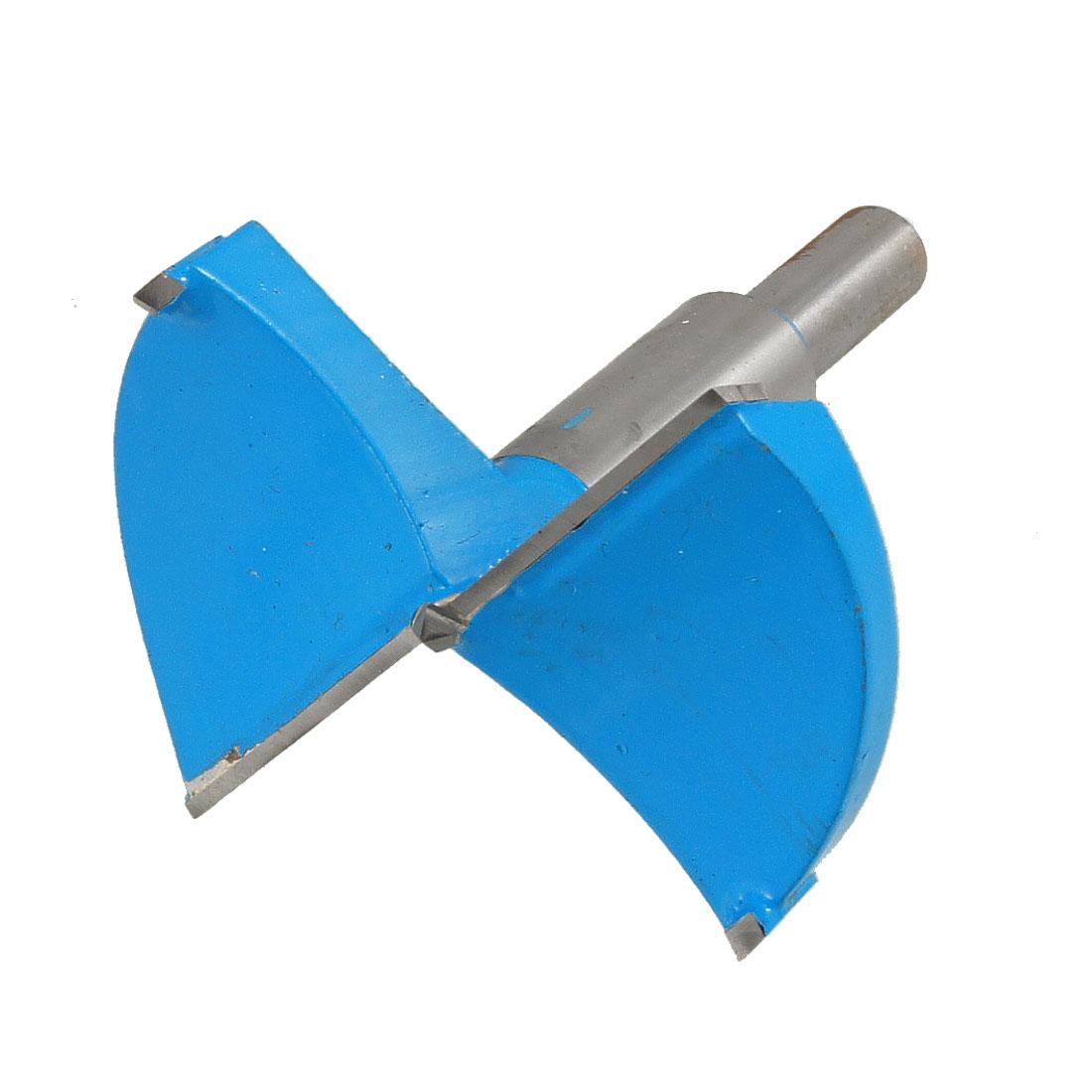 70mm Cutting Diameter Hinge Boring Drill Bit Blue Gray