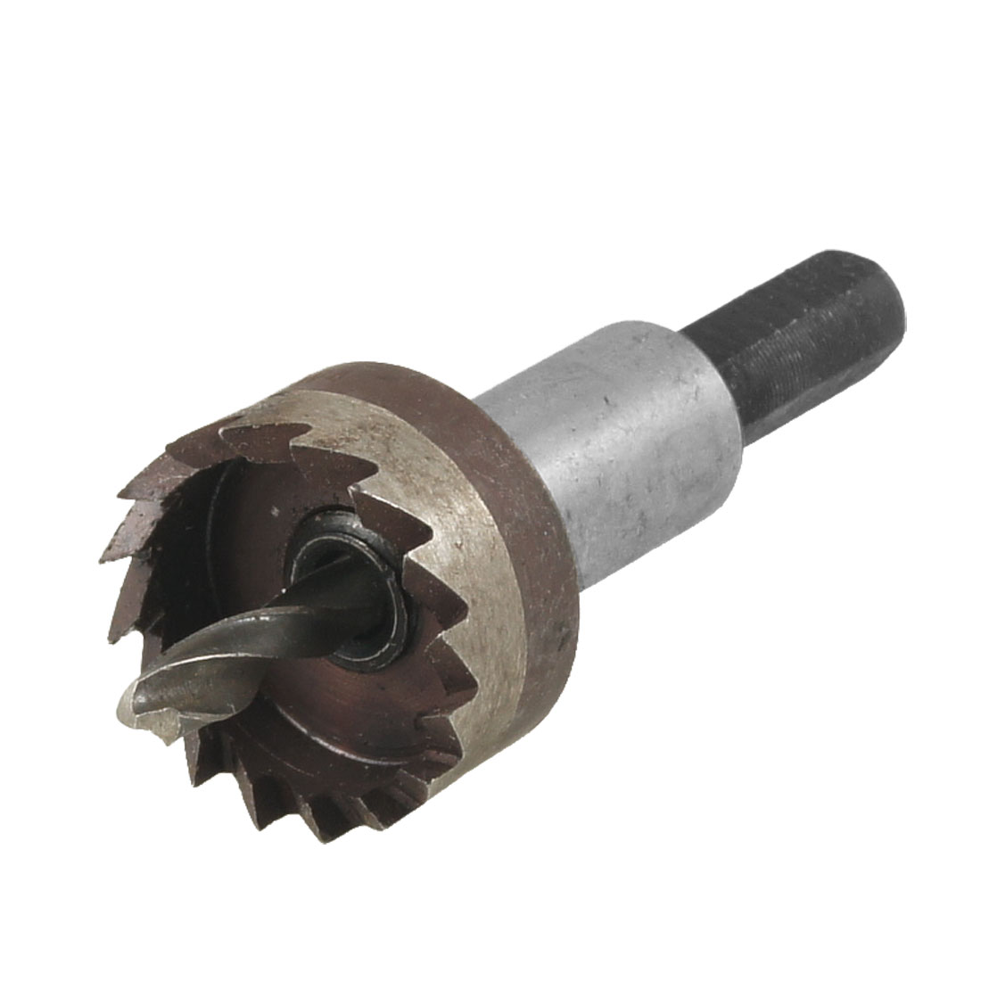 HSS 24mm Dia Iron Cutting 4mm Metal Twist Drill Bit Hole Saw Tool