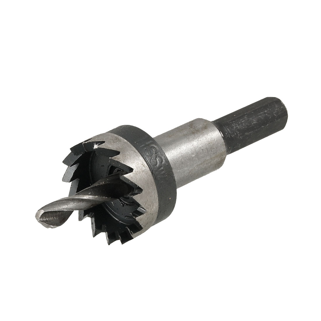 HSS 22mm Dia Iron Cutting 5mm Twist Drilling Bit Hole Saw Tool
