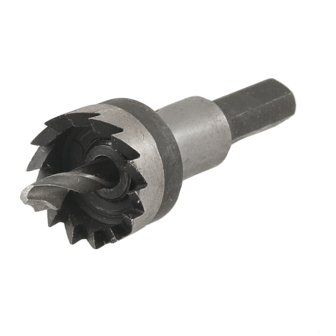 HSS 20.5mm Dia Iron Cutting 5mm Twist Drilling Bit Hole Saw