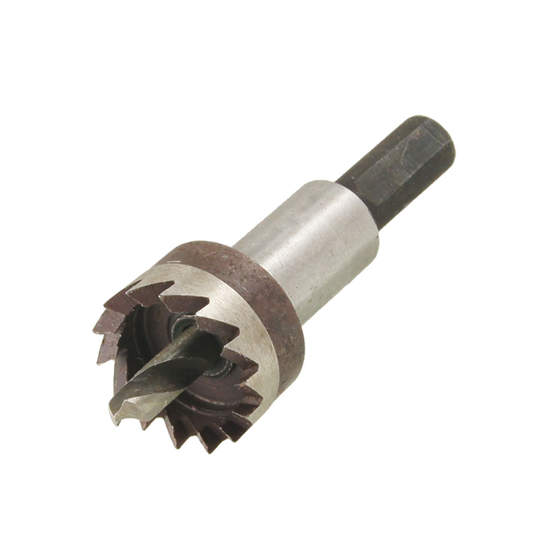 HSS 21mm Diameter Iron Cutting 5mm Twist Drill Bit Hole Saw Tool