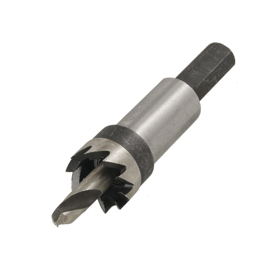 5mm Twist Drilling Bit Iron Cutting Cutter 15mm Dia Hole Saw