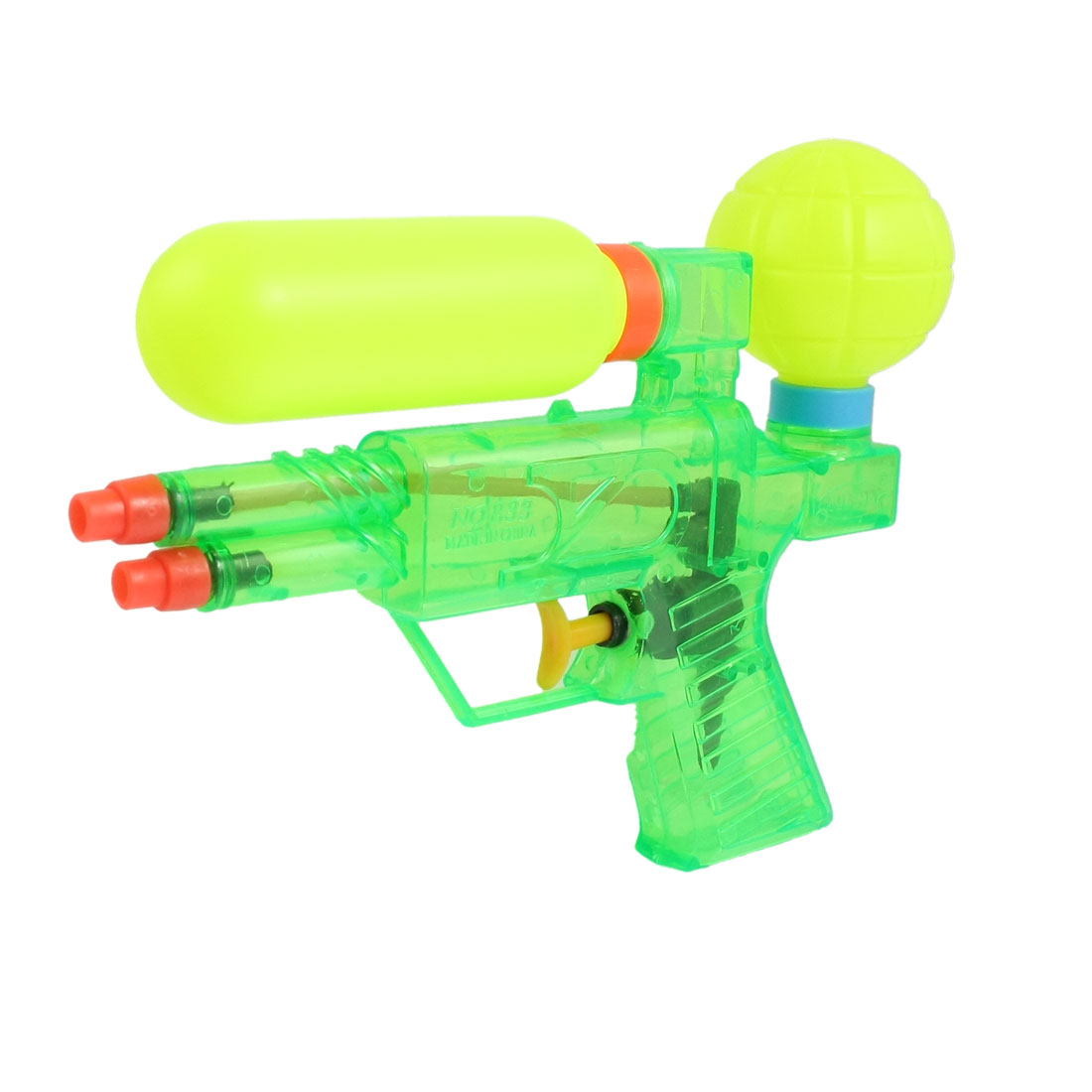 Green Yellow Red Plastic Toy Water Squirt Gun for Children