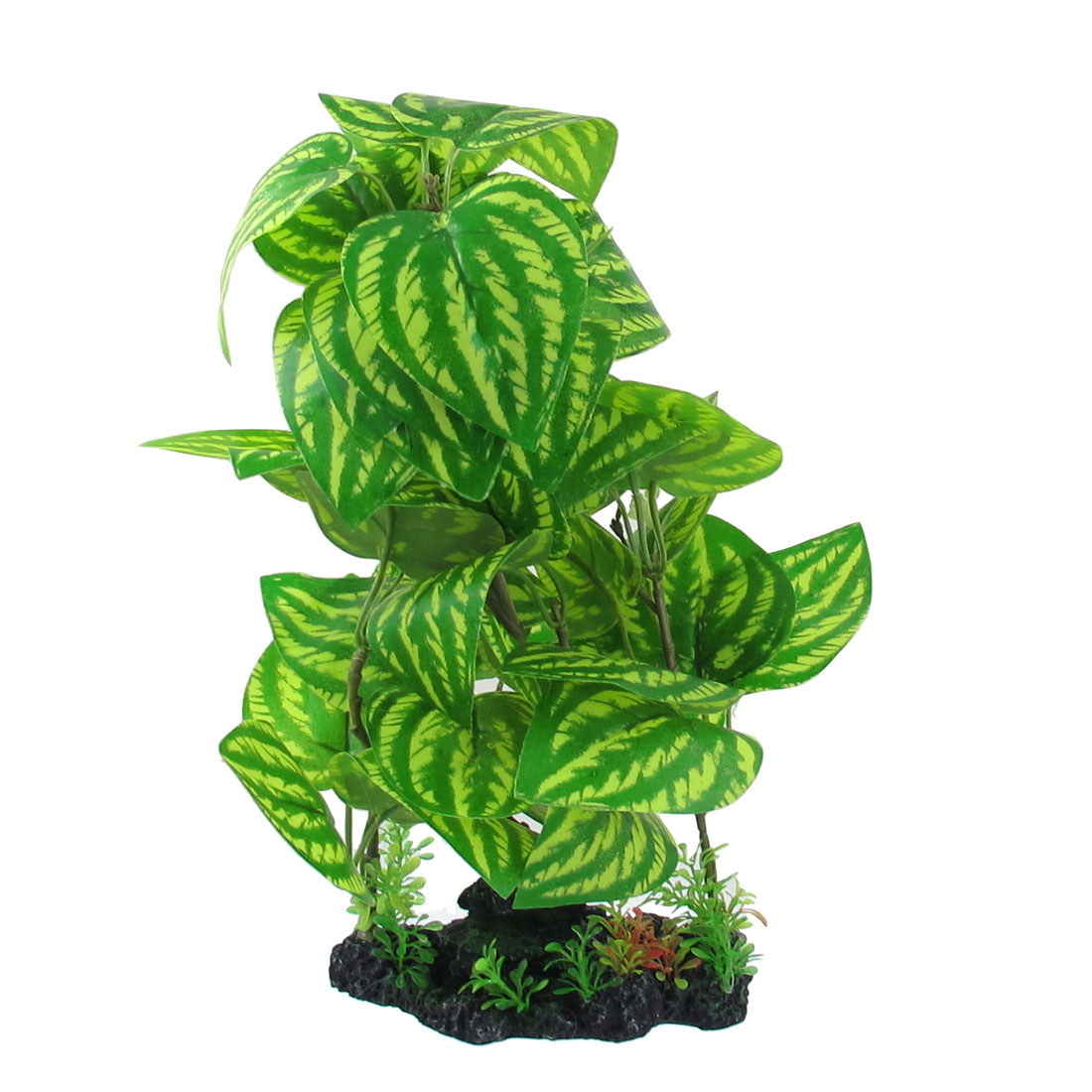 "12.6"" Height Manmade Plastic Green Plant for Aquarium Fish Tank"