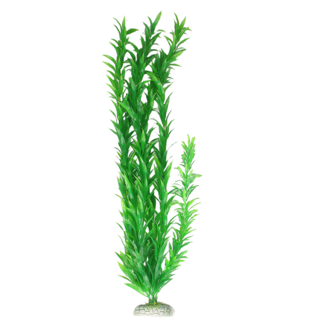 "32"" Height Green Manmade Aquarium Plastic Plant for Fish Tank"