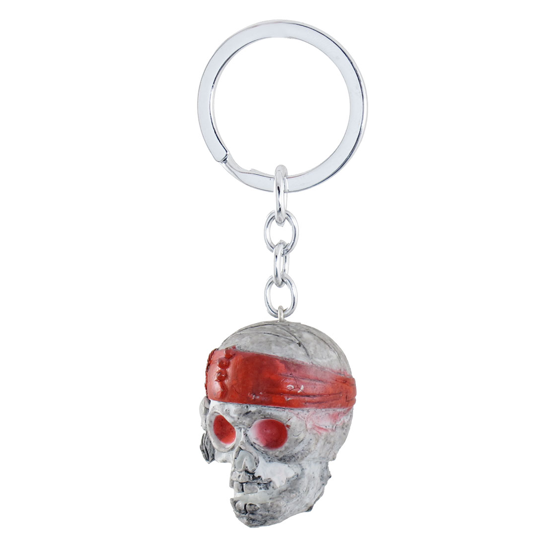 Bag Decoration Pirate Skull Head Pendant Keyring Key Chain