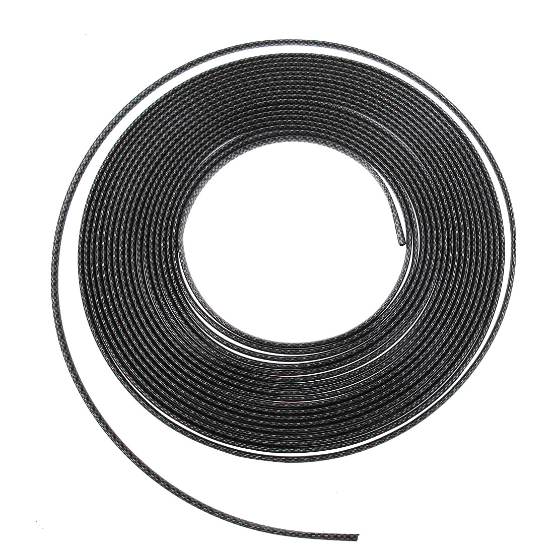 Auto Vehicle Car Black White DIY Moulding Trim Strip Decor 15M Length