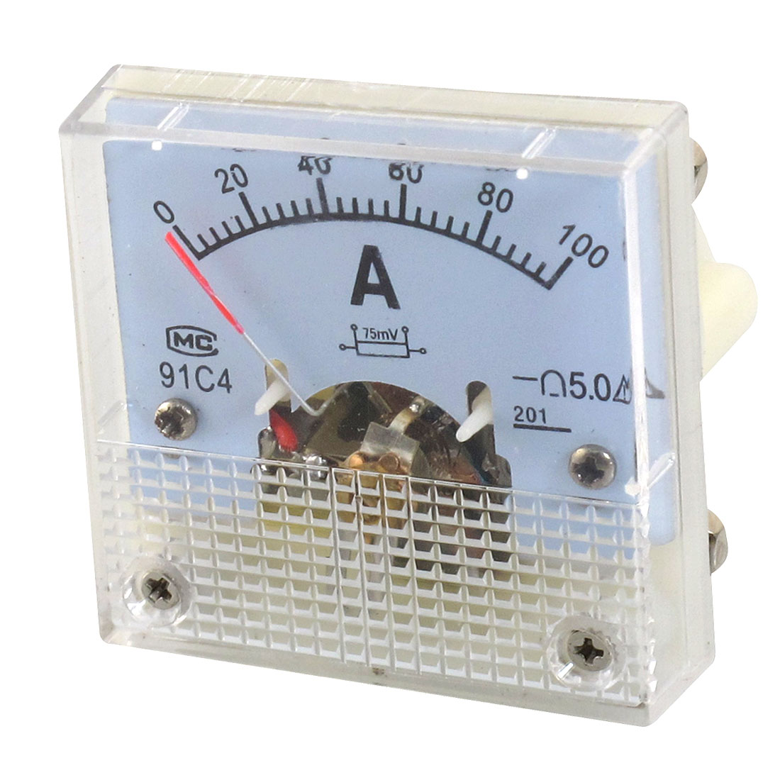Accuracy Analog 0-100A Scale Amperemeter Meter Panel