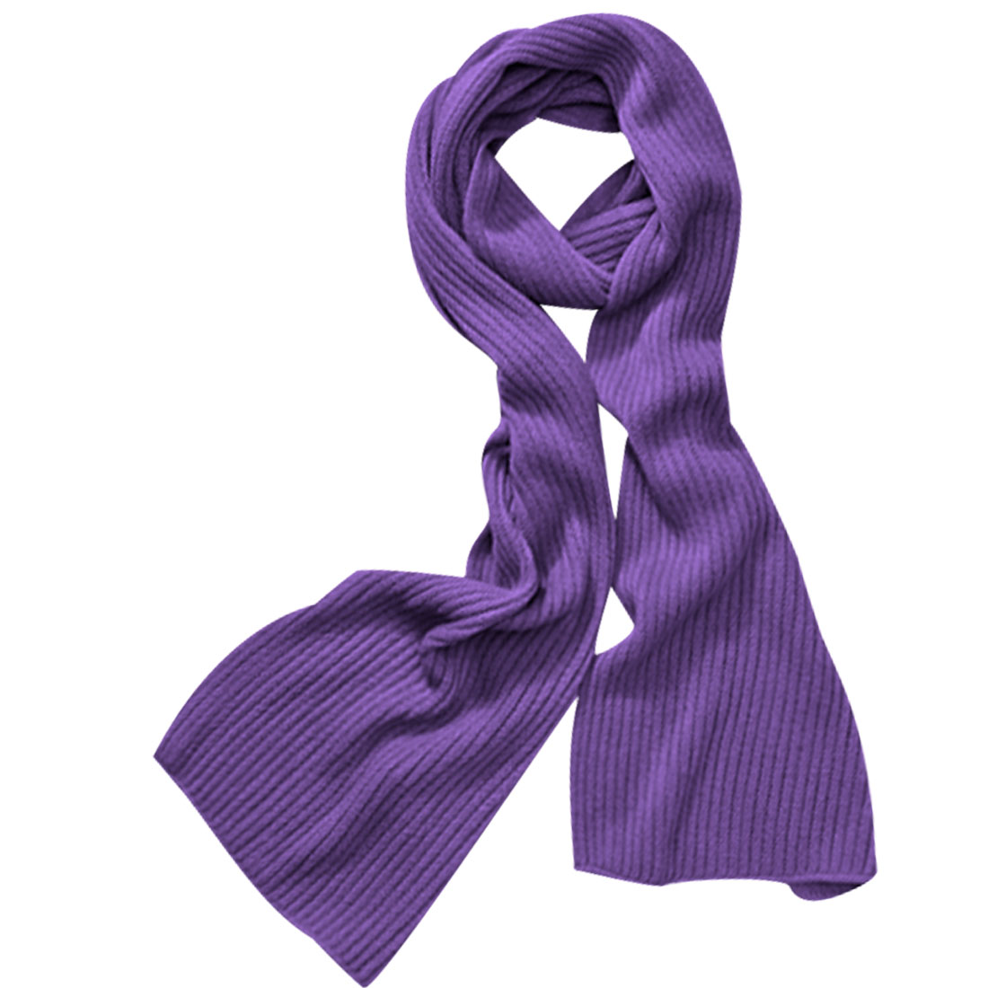Men Violet Color Rectangular Textured Solid Color Casual Shawl Wrap