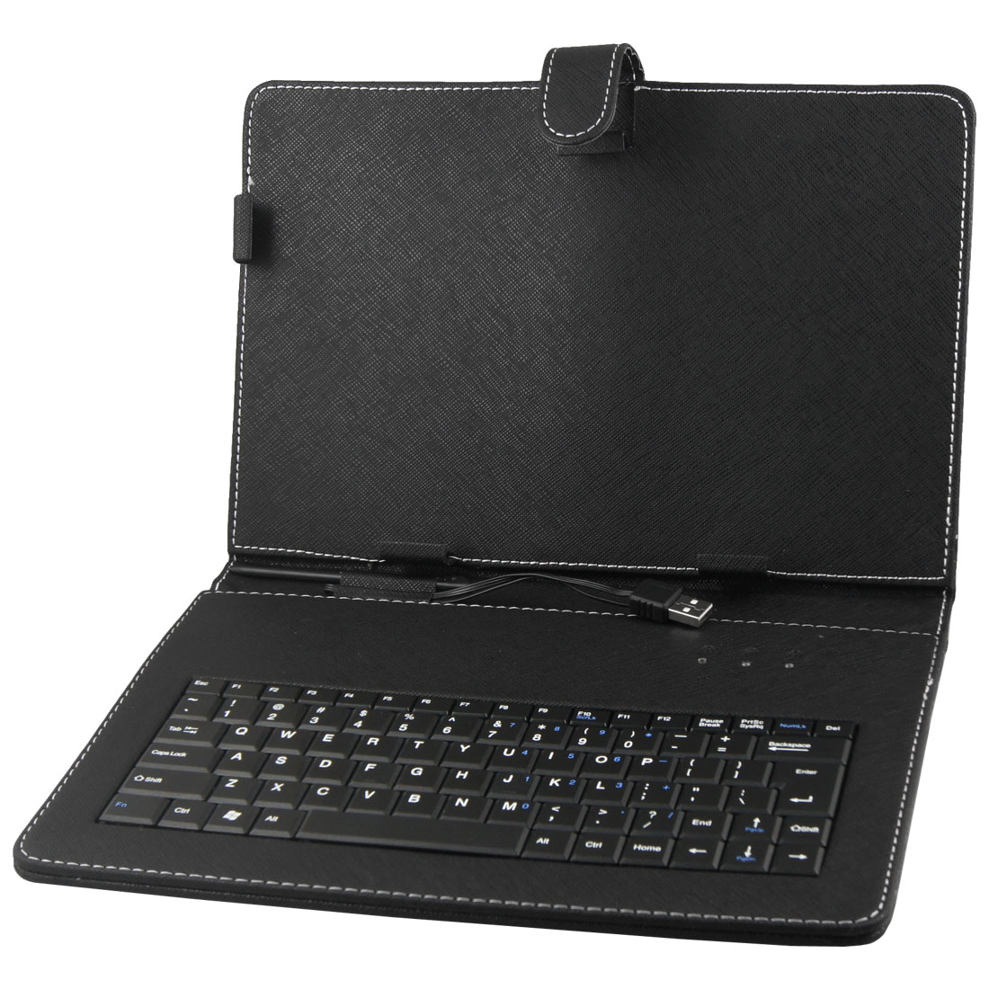 "PU Leather Case USB Keyboard for 10"" 10.1"" Tablet PC Android MID"