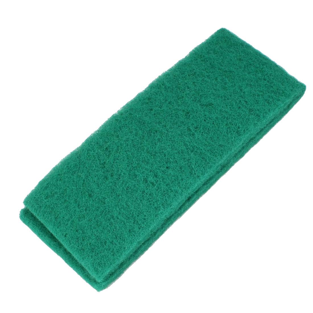 "12"" Long 2 Layers Biochemical Filter Sponge for Fish Tank Green"