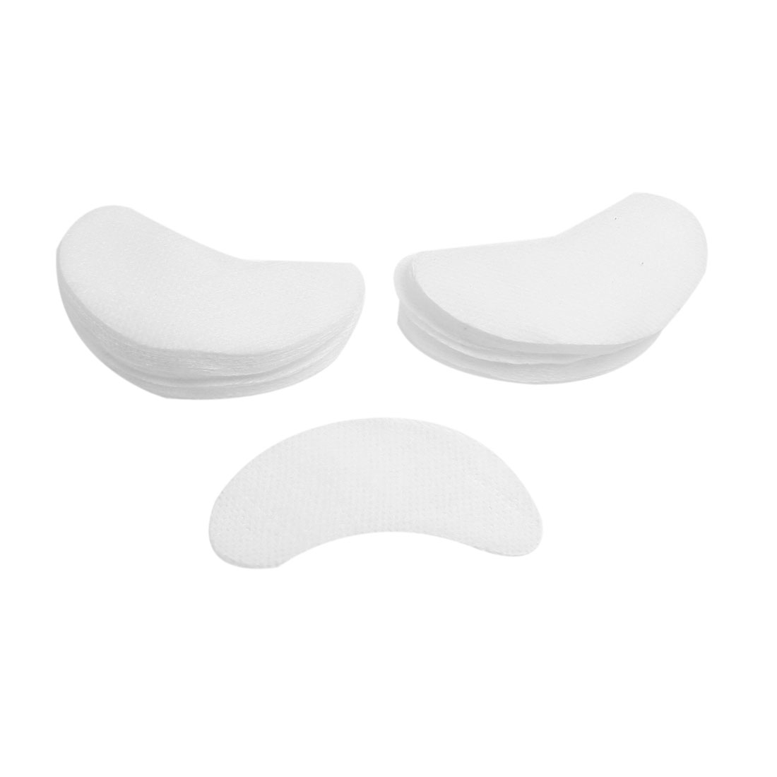 Ladies Cosmetic Tool White Double Eyelid Cotton Masks 50 Pairs