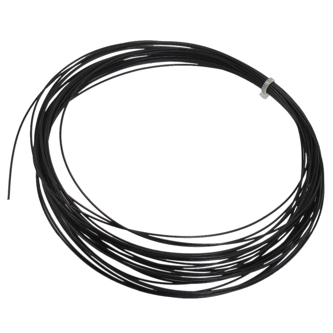 Sports Badminton Racket Racquet String Line Black 10M Length 0.8mm Gauge
