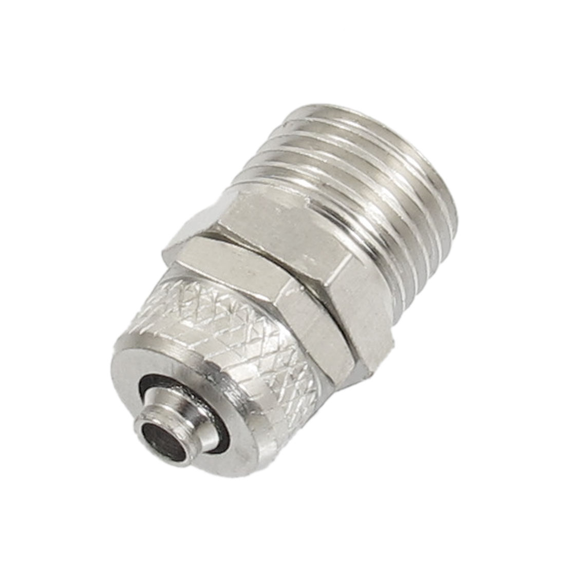 "1/4"" PT Male Thread Straight Pipe Joint Quick Fitting Connector"