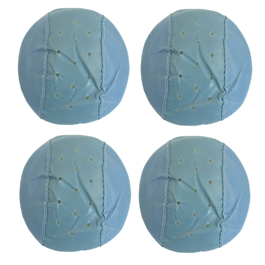 4 Pcs Blue Cover Sponge Elastic Ear Loop Anti Dust Face Mask for Adult