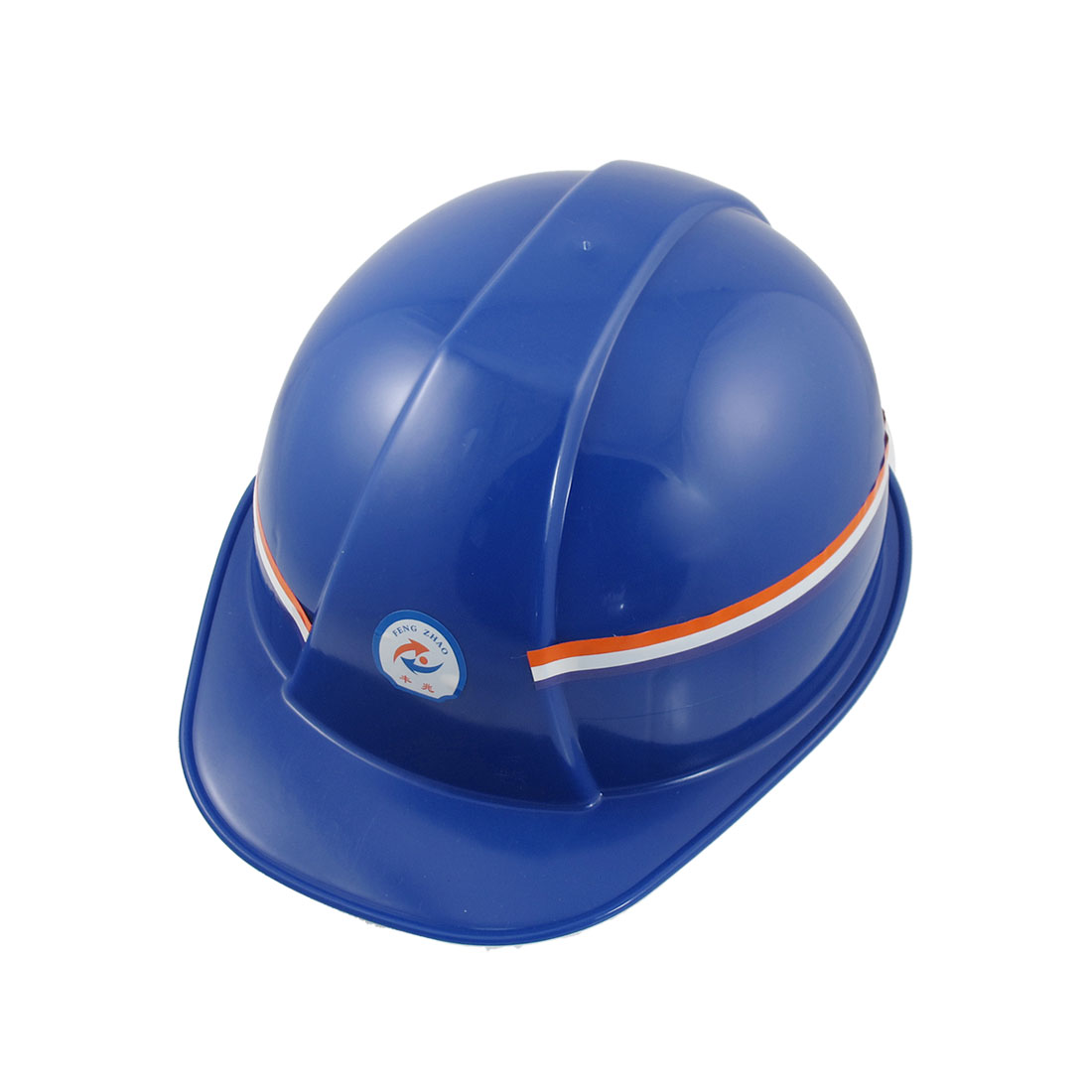 Men Hard Plastic Adjustable Protective Head Girth Safety Hat Helmet Blue