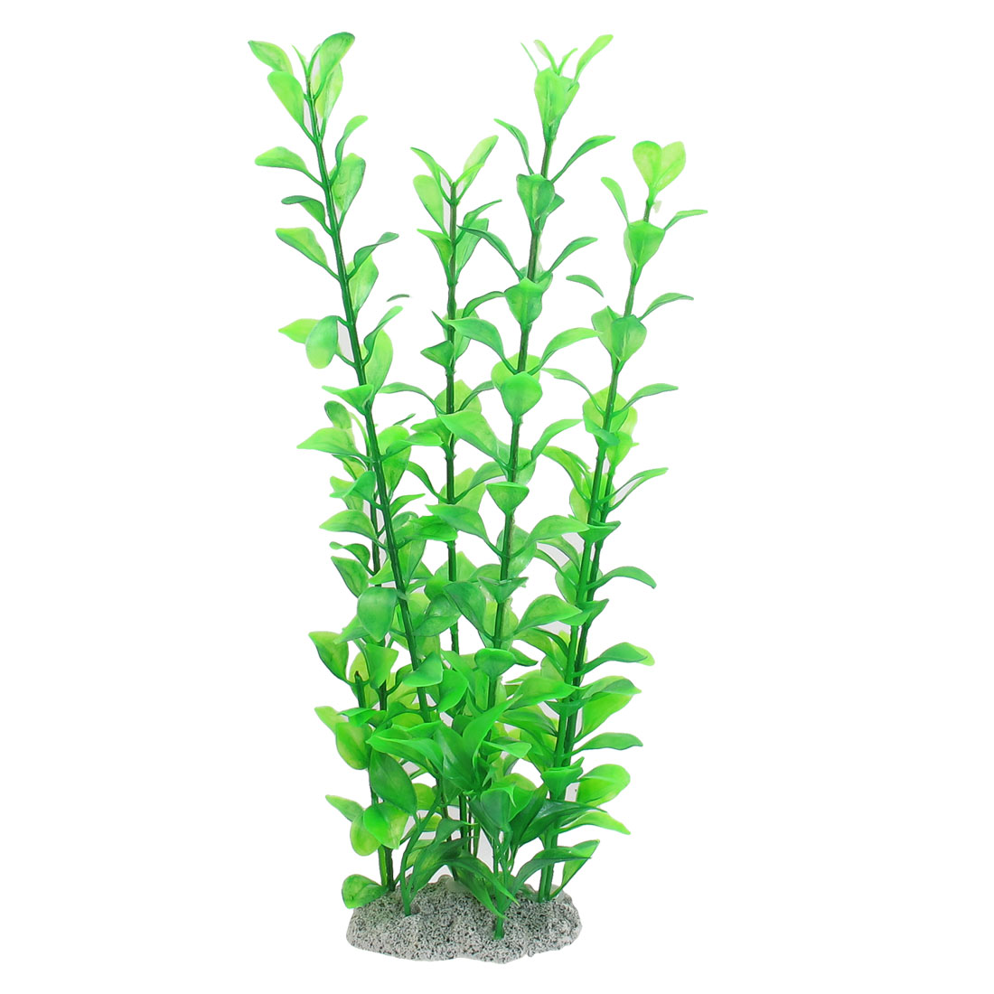 "12.2"" Green Plastic Decoration Ornament Aquarium Plant for Fish Tank"