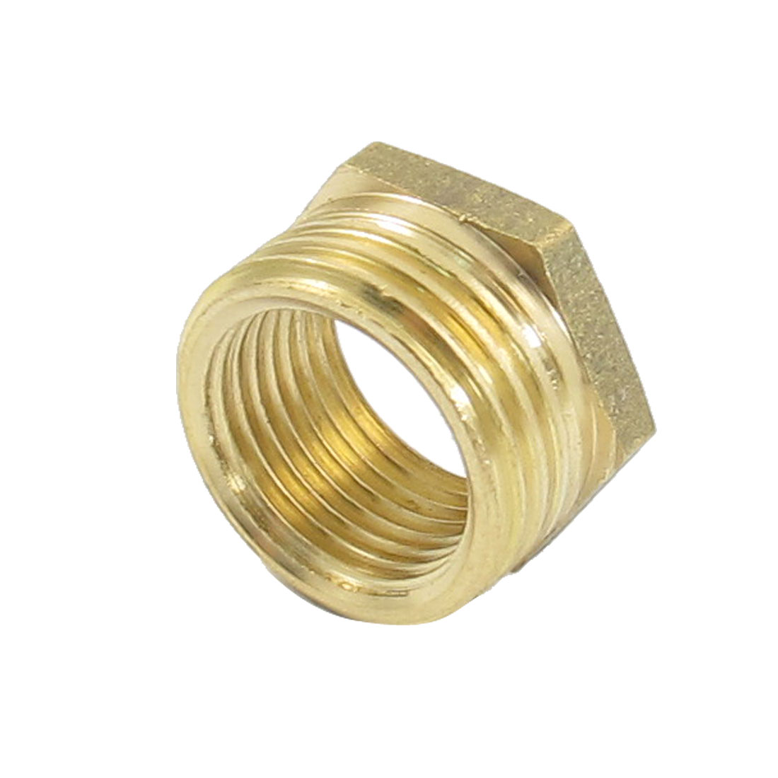 20mm Male to 16mm Female Brass Hex Reducing Bushing Adapter Pipe Fitting