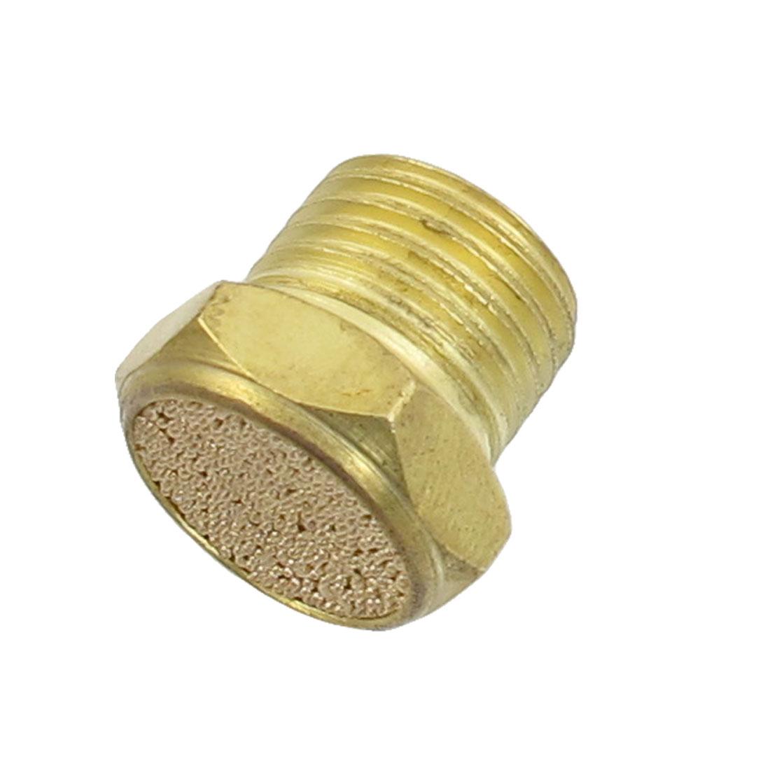12mm Male Thread Sintered Bronze Pneumatic Exhaust Silencer Muffler