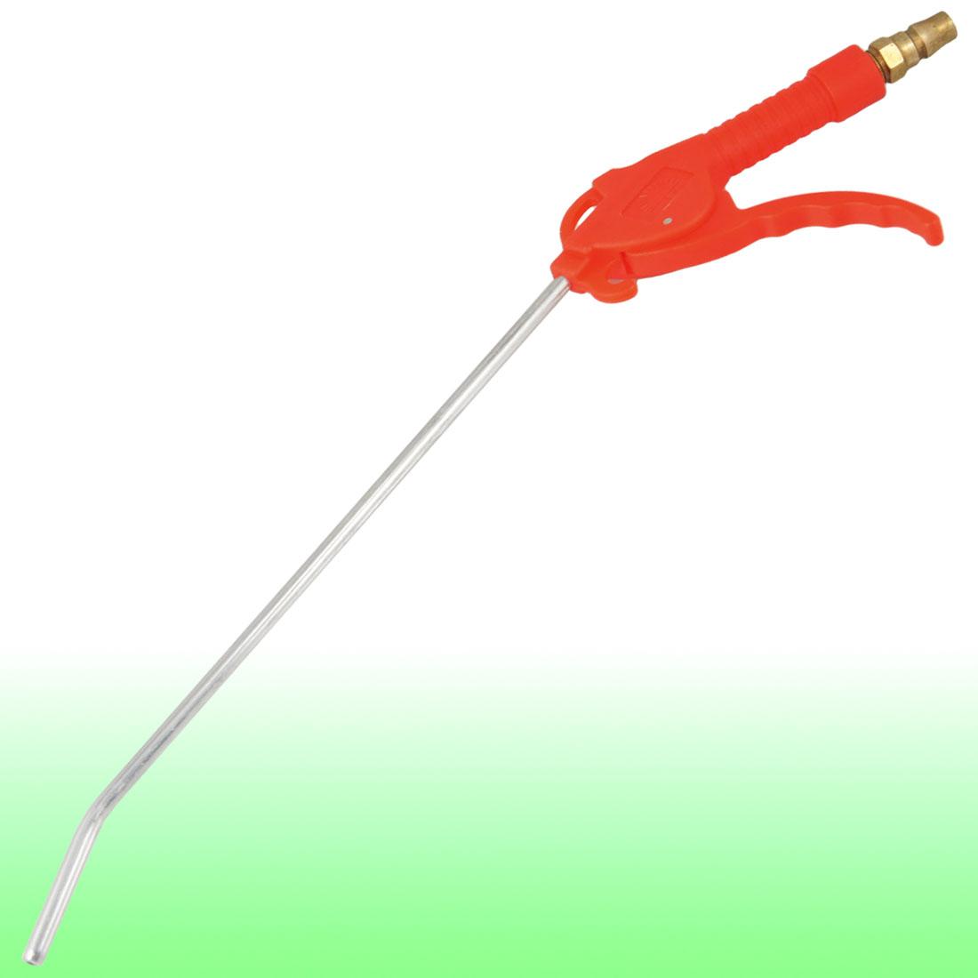 "1/2"" Hose Dia Plastic Handle Air Blower Blow Gun Cleaning Tool Red"