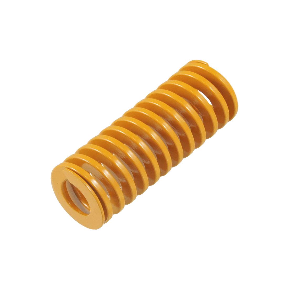 Orange 25mm x 13.5mm x 65mm Metal Tubular Section Mould Die Spring