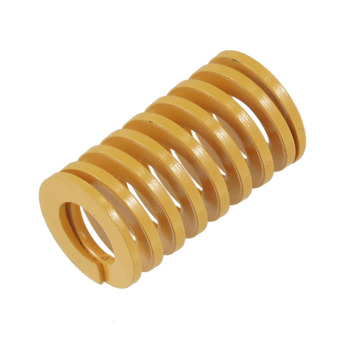 Orange 20mm x 11mm x 35mm Metal Tubular Section Mould Die Spring