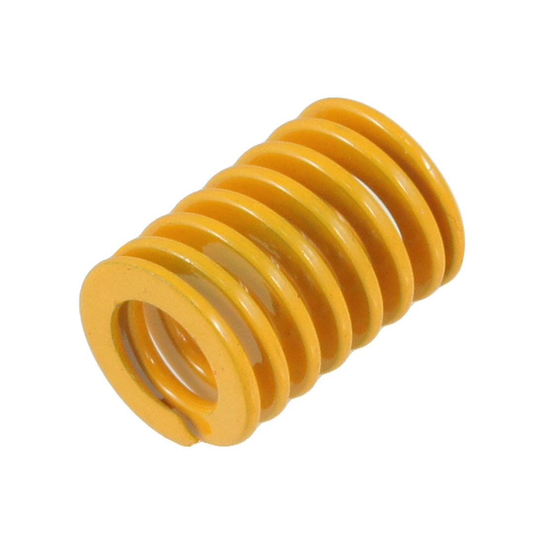 Orange 18mm x 10.5mm x 25mm Metal Tubular Section Mould Die Spring