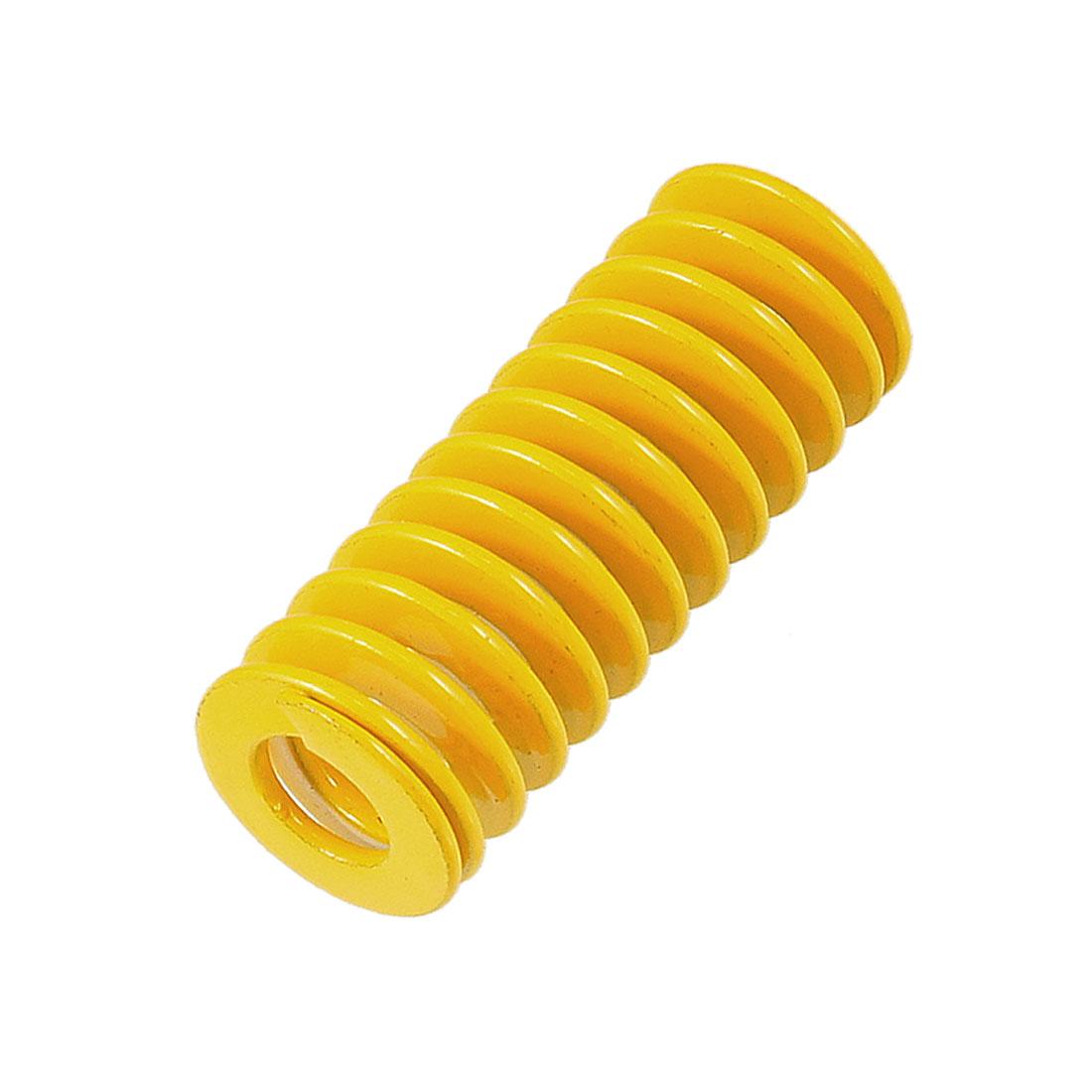 Orange 18mm x 9mm x 45mm Metal Tubular Section Mould Die Spring