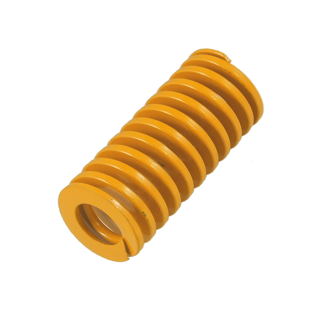 Orange 25mm x 13mm x 55mm Metal Tubular Section Mould Die Spring