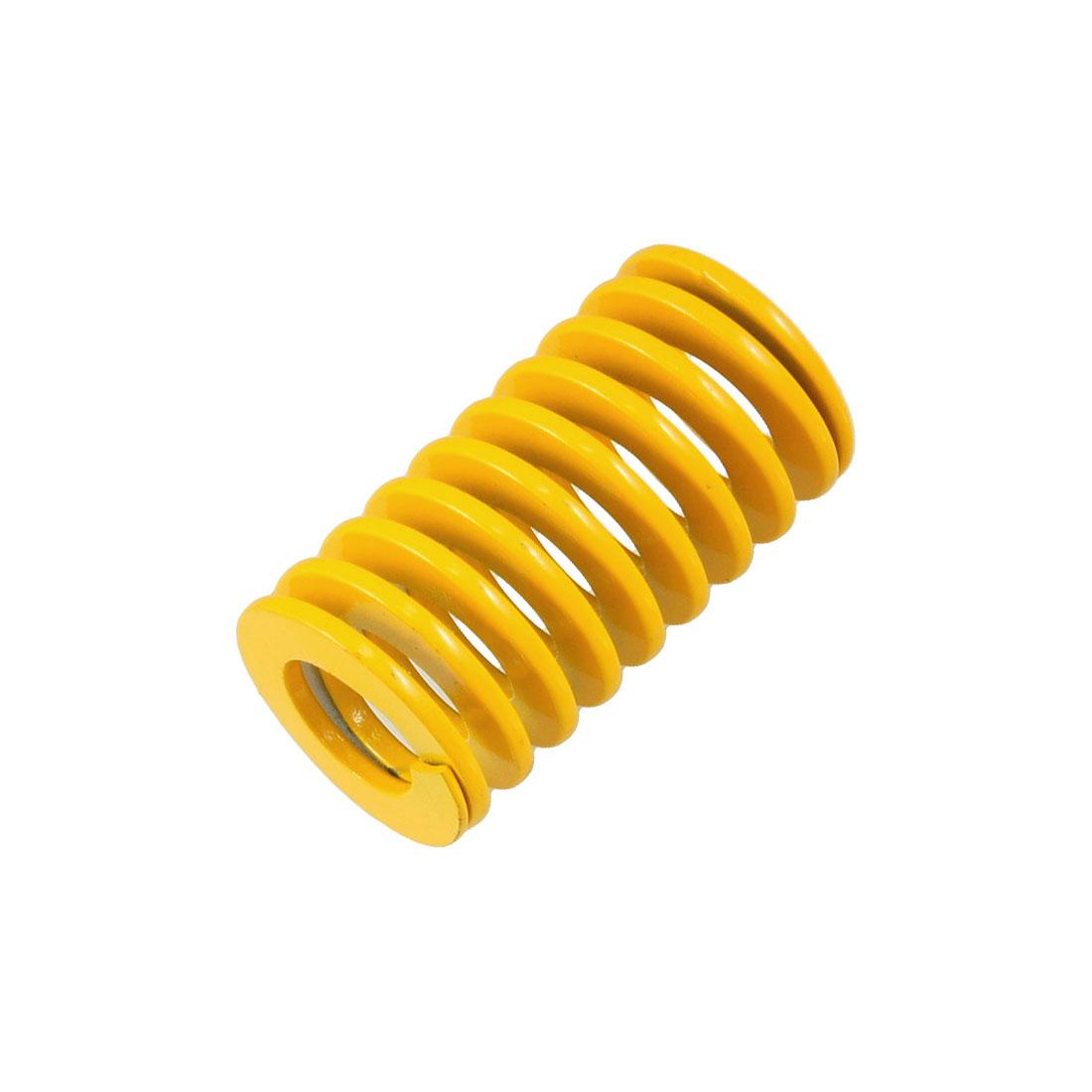 Orange 30mm x 16.5mm x 55mm Metal Tubular Section Mould Die Spring