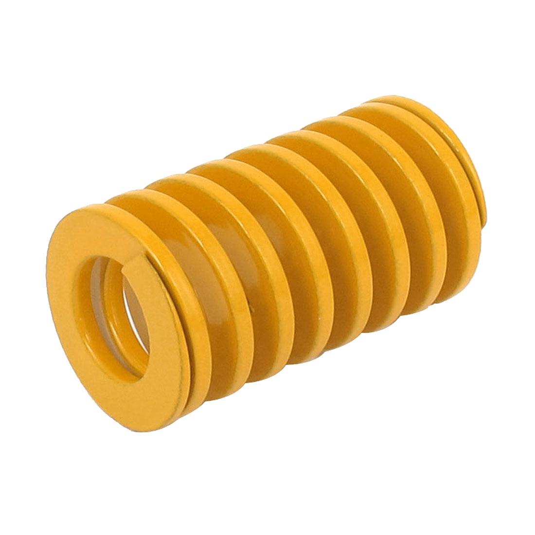 Orange 20mm x 10mm x 35mm Metal Tubular Section Mould Die Spring