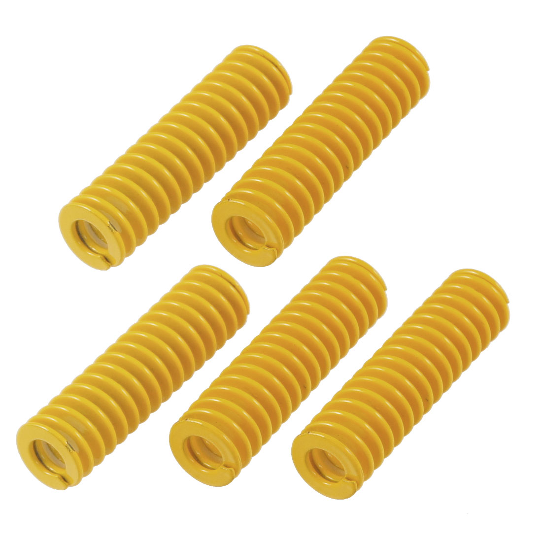 5 Pcs 14mm x 7mm x 50mm Spiral Metal Stamping Compression Die Spring