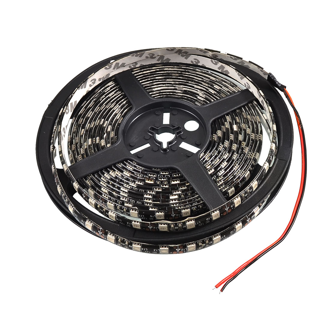 Car Decorative 5M 5050 Red 300 SMD LED Flexible Strip Light Lamp