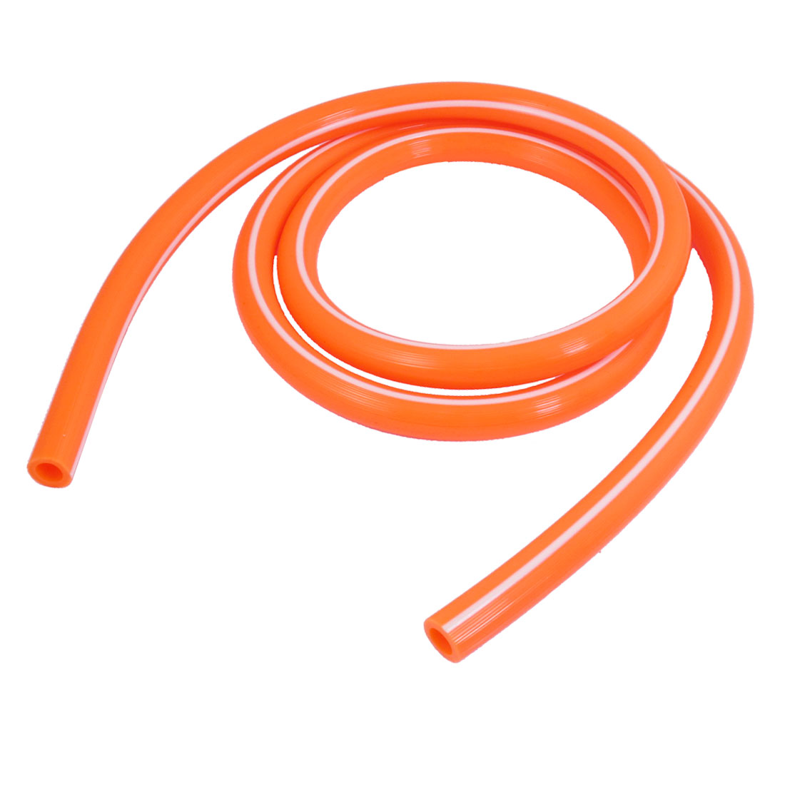 Replacement 14.5mm x 9mm Orange Red PE Tube Gas Water Pipe Hose 1.5M