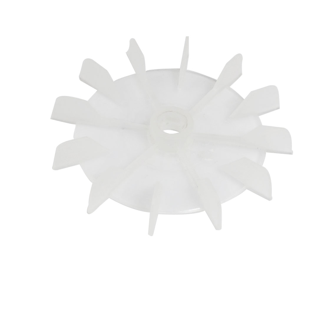 Machine Part Clear Plastic 14mm Inner Dia. 14-Impeller Motor Fan Leaf