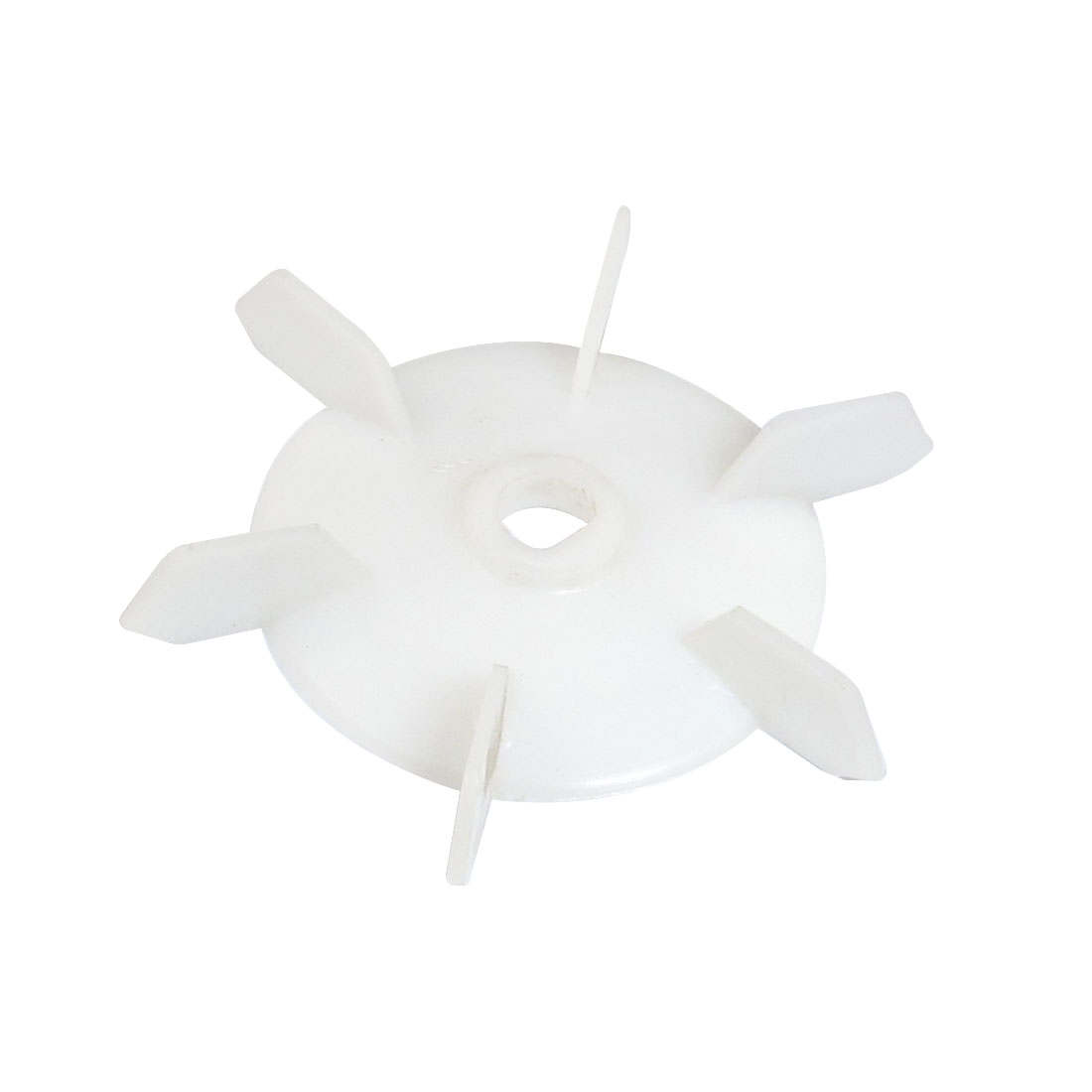 Spare Part 16mm Inner Diameter 6 Vanes Impeller Plastic Motor Fan Wheel